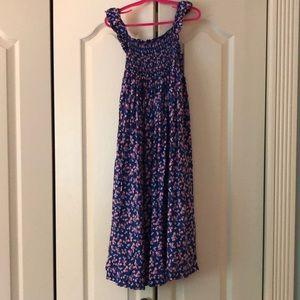 Carter's girls summer maxi dress size 7